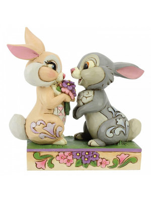 Disney Traditions Bunny Bouquet (Thumper and Blossom Figurine)
