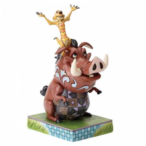 Disney Traditions Carefree Cohorts (Timon and Pumbaa Figurine)