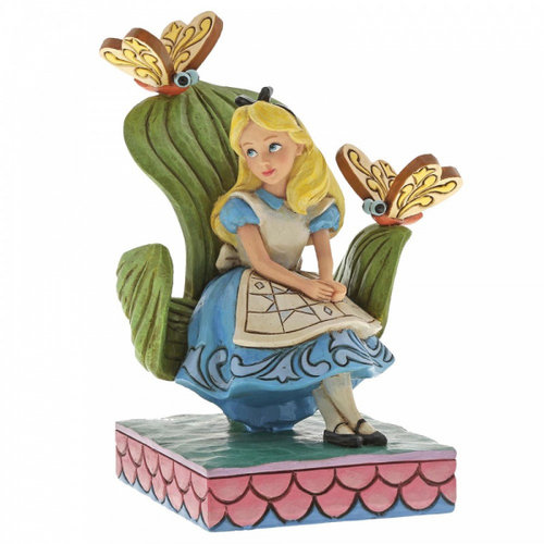 Disney Traditions Curiouser and Curiouser (Alice in Wonderland Figurine)