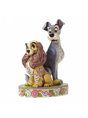 Disney Traditions Opposites Attract (Lady and The Tramp 60th Anniversary Piece