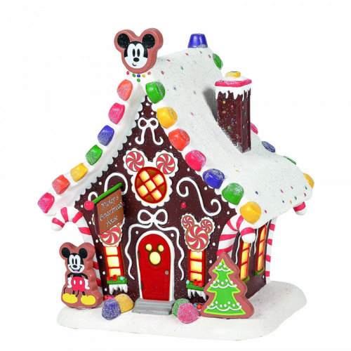 Disney Village Series Mickey Mouse's Gingerbread House European Version
