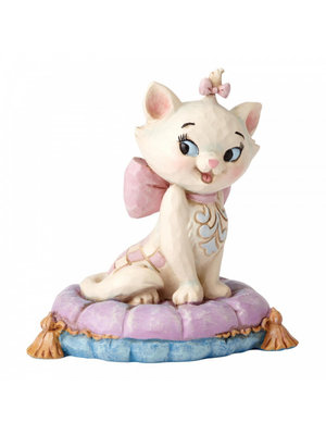 Disney Traditions Marie on Pillow Mini Figurine