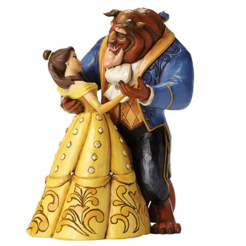 Disney Traditions Moonlight Waltz (Beauty and The Beast Figurine)