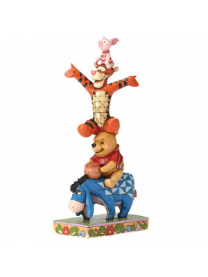 Disney Traditions Built By Friendship (Eeyore, Pooh, Tigger and Piglet Figurin