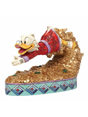 Disney Traditions Treasure Dive (Scrooge McDuck Figurine)
