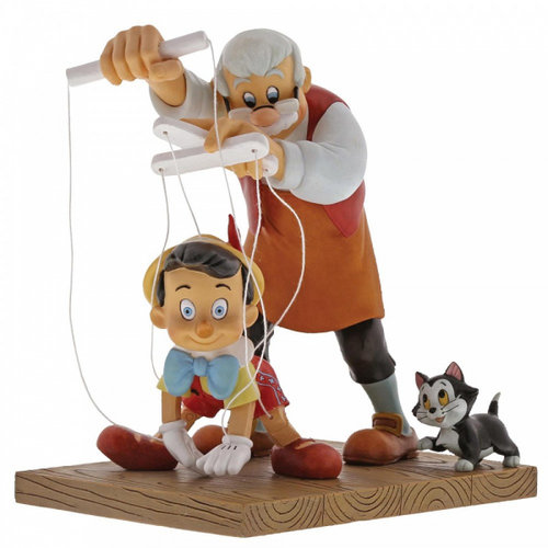 Disney Enchanting Collection Little Wooden Head (Pinocchio Figurine)