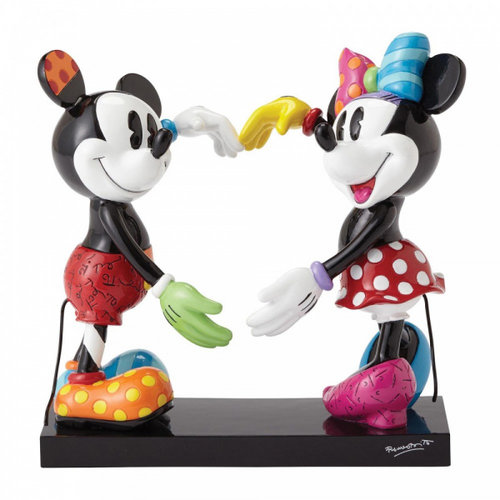 Disney Britto Mickey and Minnie Mouse Figurine