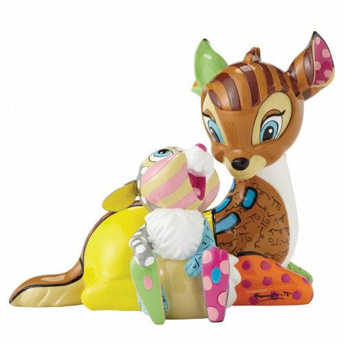 Disney Britto Bambi and Thumper Figurine