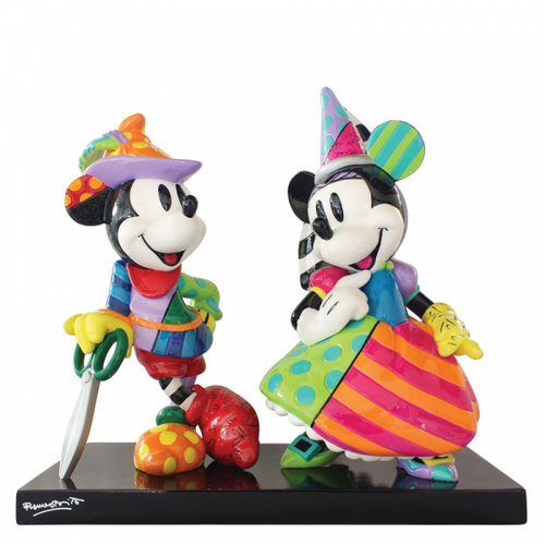 Disney Britto Mickey and Minnie Mouse Figurine NLE 3000