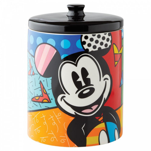 Disney Britto Mickey mouse Cookie Jar Large