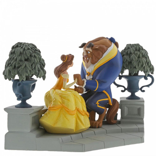 Disney Enchanting Collection Happy Here (Beauty and The Beast Figurine)