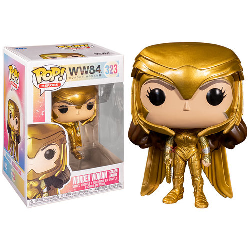 Funko Funko POP! WW84 323 Wonder Woman Golden Armor