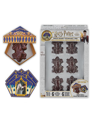 Harry Potter Chocolate Frog Mold + 8 Paper Boxes