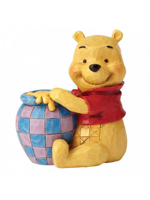 Disney Traditions Winnie the Pooh with Honey Pot Mini Figurine