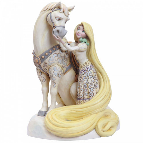 Disney Traditions Innocent Ingenue (Rapunzel White Woodland Figurine)