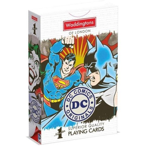 DC Super Heroes Retro Playing Cards Waddingtons