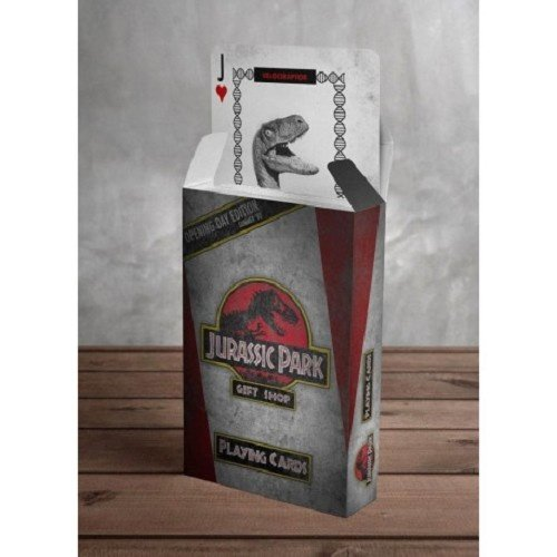 Jurassic Park Gift Shop Playing Cards
