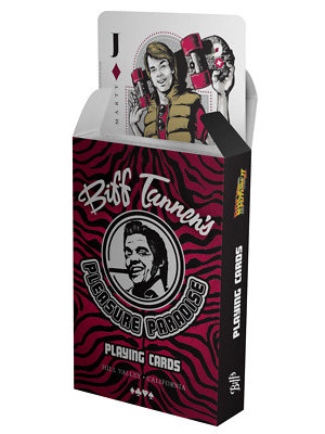 Back to the Future Biff Tanners Pleasure Paradise Playing Cards