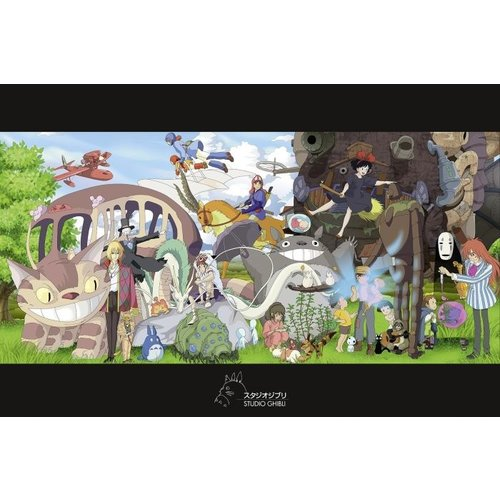 Studio Ghibli Collage Maxi Poster 61x91.5