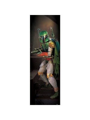 Star Wars Boba Fett Doorposter 53x158