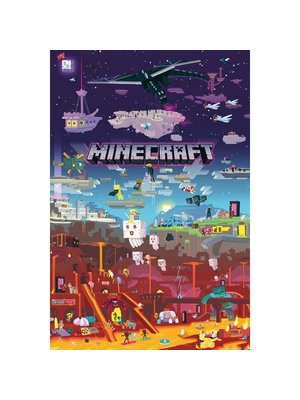 Minecraft World Beyond Maxi Poster 61x91.5