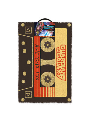 Guardians of the Galaxy Vol.2 Awsome Mix Doormat 60x40 PVC met Kokosvezels