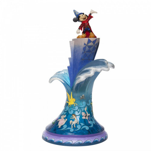 Disney Traditions Summit of Imagination (Sorcerer Mickey Masterpiece Figurine)
