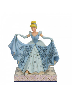 Disney Traditions A Wonderfull Dream Come True Cinderella Transformation (Cinderella Glass Slipper Figurin