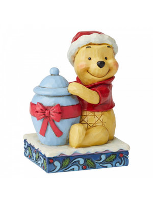 Disney Traditions Holiday Hunny (Winnie the Pooh Figurine)