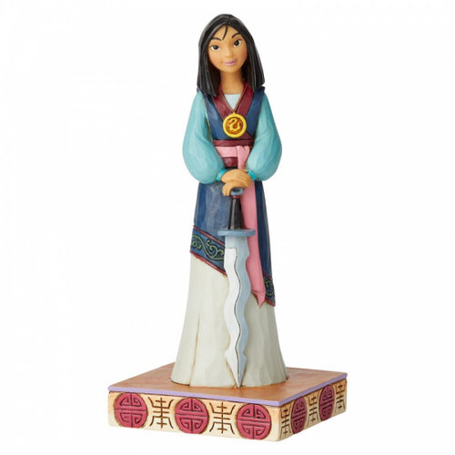 Disney Traditions Winsome Warrior (Mulan Princess Passion Figurine)