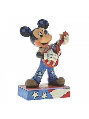 Disney Traditions Rock and Roll (Mickey Mouse Figurine)