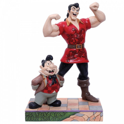 Disney Traditions Muscle-Bound Menace (Gaston and Lefou Figurine)