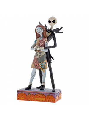 Disney Traditions Fated Romance (Jack and Sally Figurine)