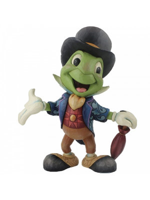 Disney Traditions Cricket's the Name. Jiminy Cricket Statement Figurine