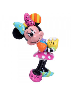 Disney Britto Minnie Mouse Blushing Mini Figurine