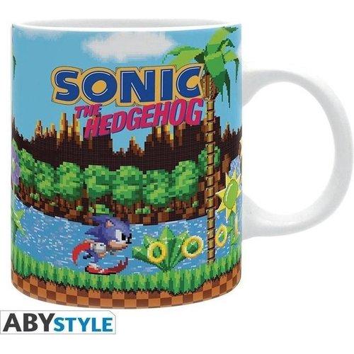 Difuzed Sonic the Hedgehog Retro Mug 320ml