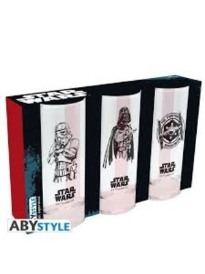 Abystyle Star Wars 3 Glass Set
