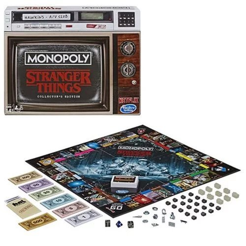 Stranger Things Monopoly Collector's Edition
