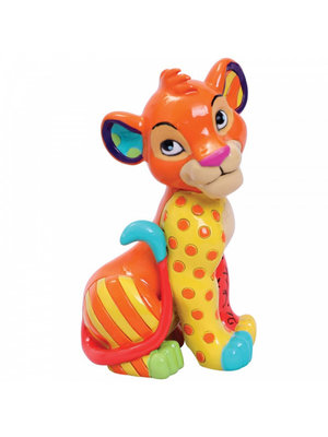 Disney Britto Simba Sitting Mini Figurine