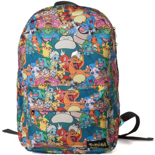 Pokemon All Over Printed Characters Backpack