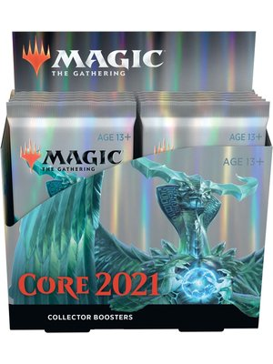 Wizards of The Coast Magic MTG Core 2021 15-Card Collector Booster