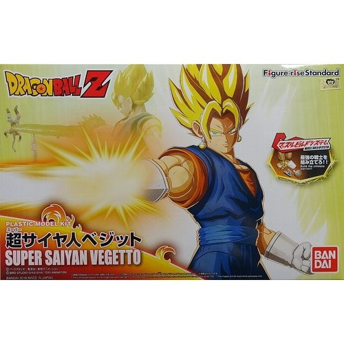 Bandai Dragon Ball Super Saiyan Vegetto Figur Rise Standard Model Kit