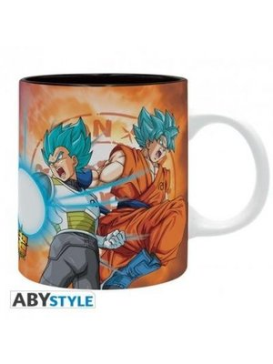 Dragon Ball Super Saiyans VS Frieza Mug 320ml