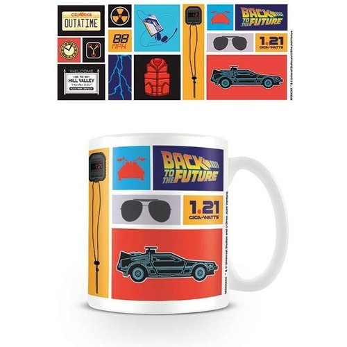 Abystyle Back to the Future Collection Ceramic Mug 315ml