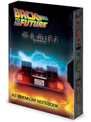 Abystyle Back to the Future VHS Great Scott Notebook A5 Premium