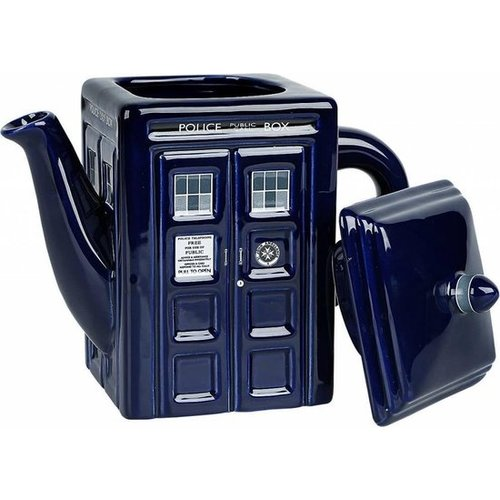 Doctor Who Tardis Ceramic Tea Pot