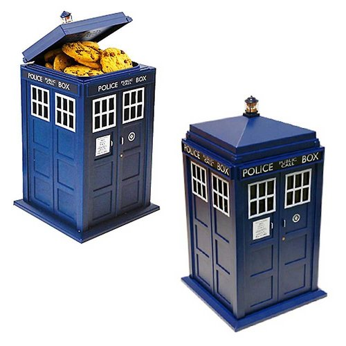 Dr. Who Tardis Cookie Jar Sound and Light