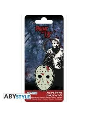 Abystyle Friday the 13th Jason Mask Metal Keychain