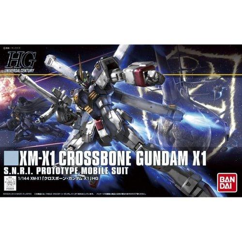 Bandai Gundam HGUC Crossbone Gundam X1 Scale 1:144 Model Kit