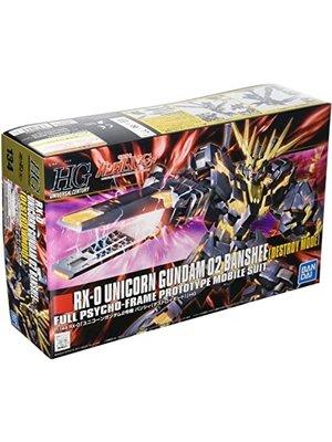 Bandai Gundam HGUC RX-0 Unicorn 02 Banshee Destroy Mode Scale 1:144 Model Kit